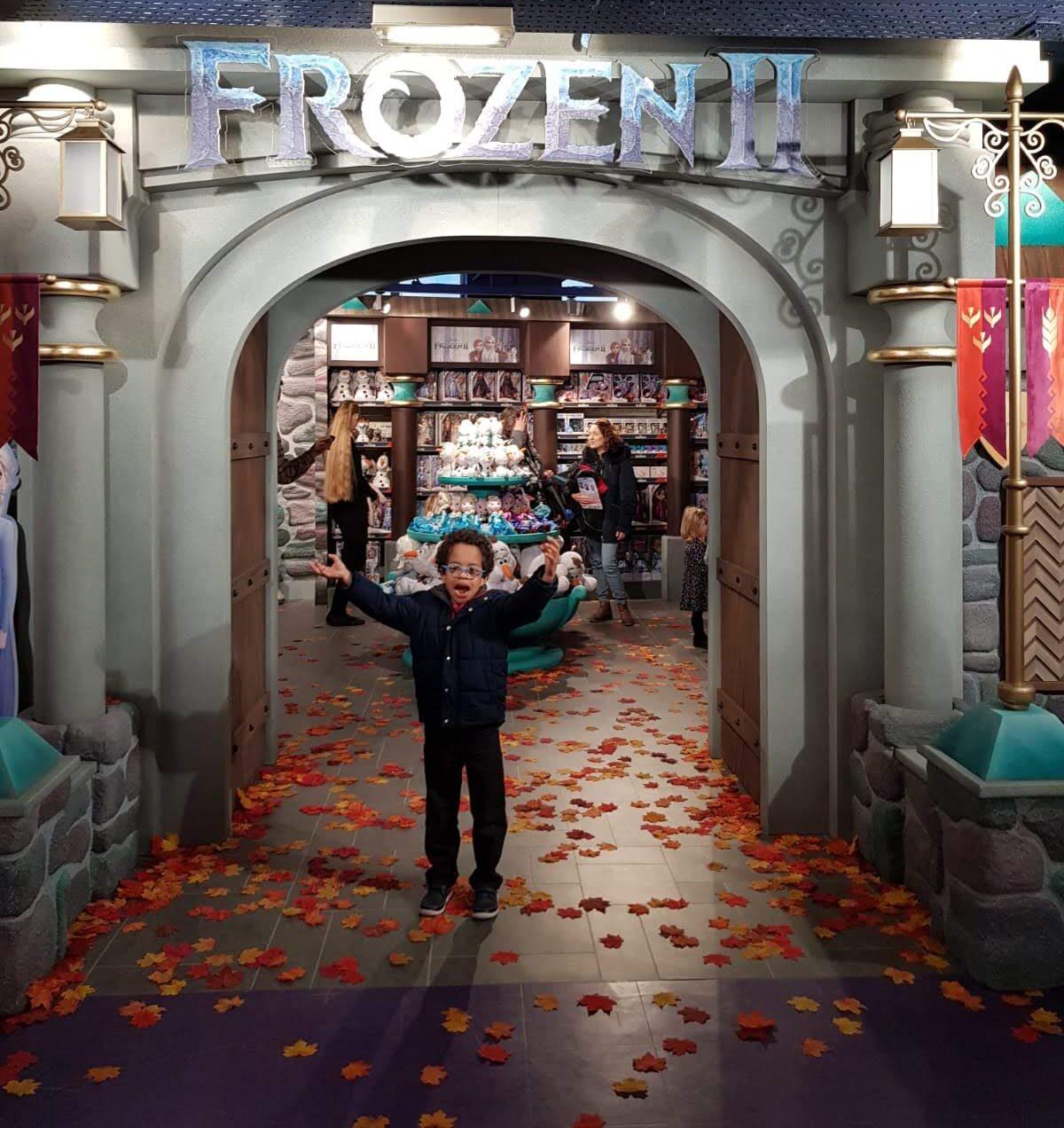 Frozen 2 – An adventure at Hamleys Magical Castle